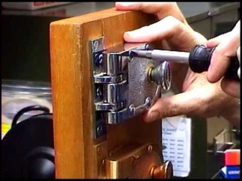 Changing A Rim Cylinder On A Jimmy Proof Deadbolt Youtube
