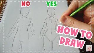 ? HOW TO DRAW || Female Body Tutorial ?