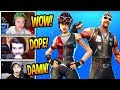 STREAMERS REACT TO NEW CHOPPER BACKBONE SKINS RARE Fortnite SAVAGE FUNNY Moments mp3