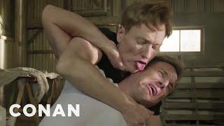 Will Arnett & Conan's MTV Kiss Fight