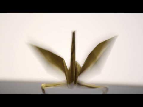 DANCING PAPER - うごく折り紙をつくってみた