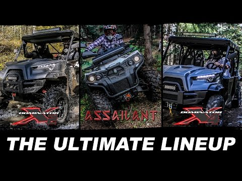 THE ULTIMATE LINEUP IS HERE - ODES UTVS