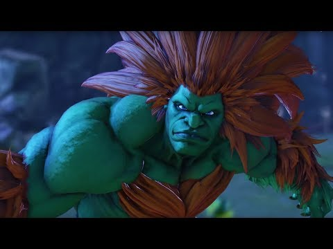 Street Fighter V: Arcade Edition - Blanka Gameplay Trailer