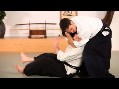 Aikido Techniques: Kubishime  |  How to Do Aikido Image 1