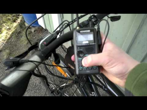 Bicycle HAM Radio Setup