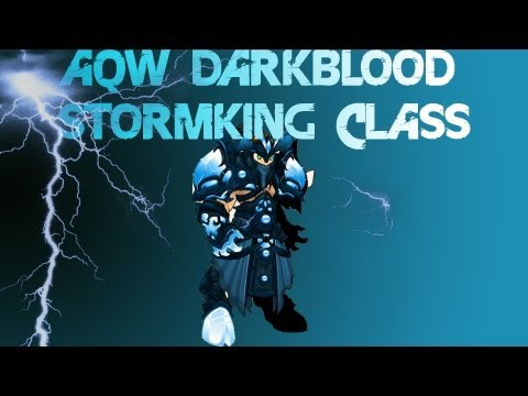 AQWorlds How To Use Darkblood Stormking Class + Capt000beard Solo!