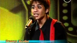 Imitador de Billie Joe de Greenday - Yo Soy [ 2 da Temporada ] 14/06/2012