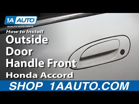 How To Install Replace Outside Door Handle Front Honda Accord 94-97 1AAuto.com