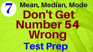 Solve Mean, Median, Mode , Range & More Questions Easily