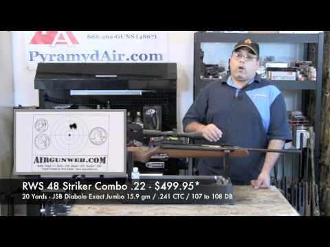 RWS 48 Review - Striker Combo in .22 Caliber