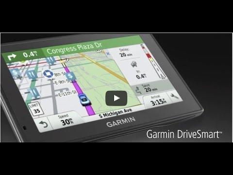 Garmin DriveSmart 50 Plan A Trip Demo #4 720p