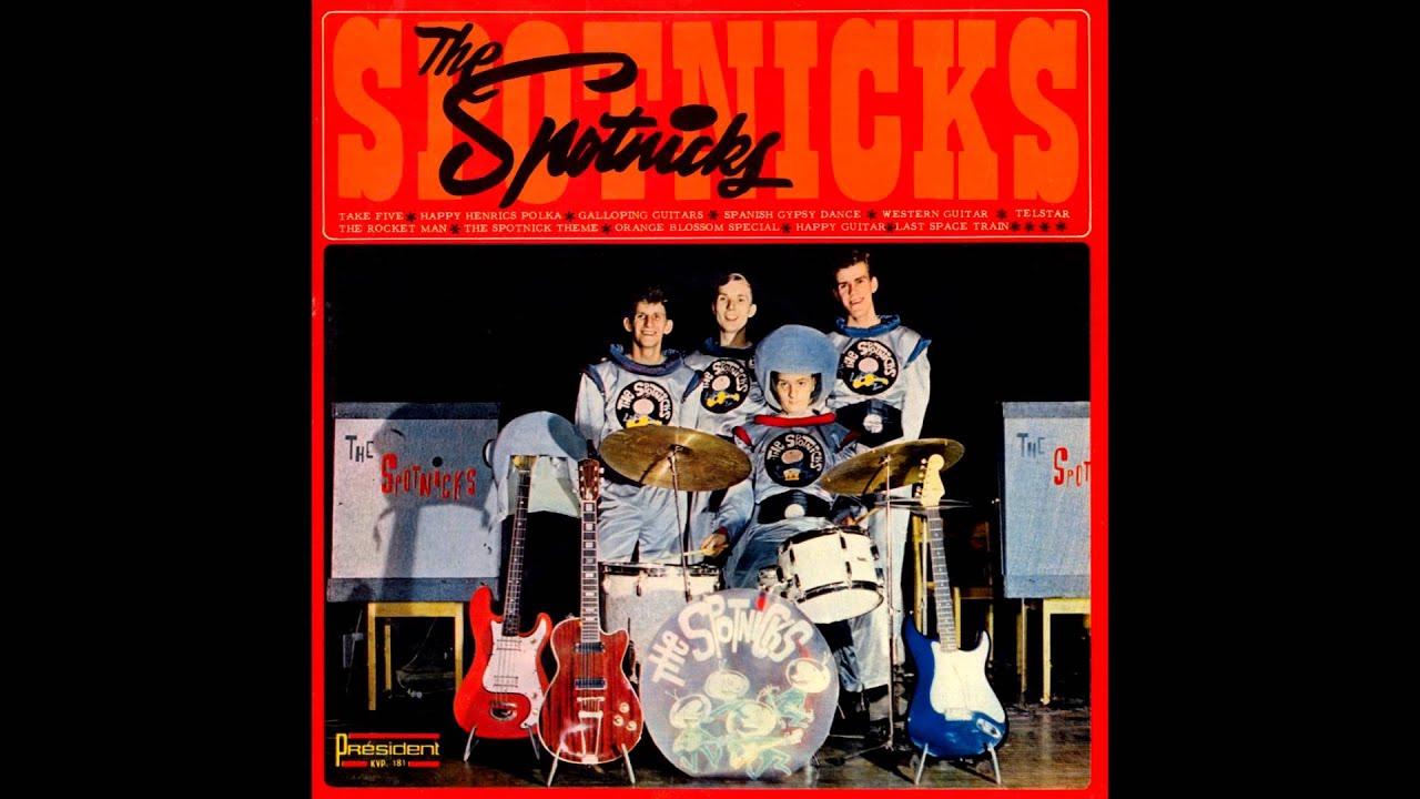 The Spotnicks Take Five The Dave Brubeck Quartet Youtube