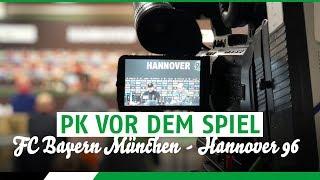 RE-LIVE: PK vor dem Spiel | FC Bayern München - Hannover 96