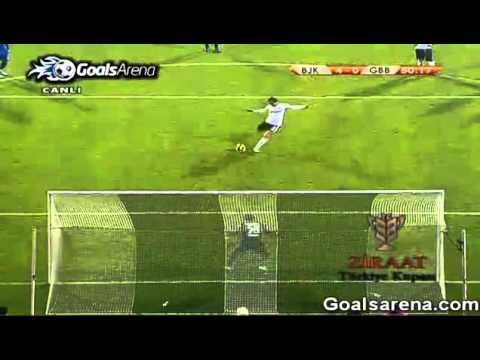 02.02.2011 - Besiktas 5-0 Gaziantep BB - Türkiye Kupasi Mac Özeti