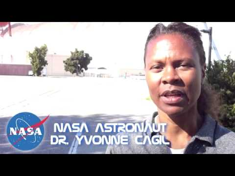 Yvonne Cagle, MD. NASA Astronaut Corp. BEST interview NASA Ames 2010