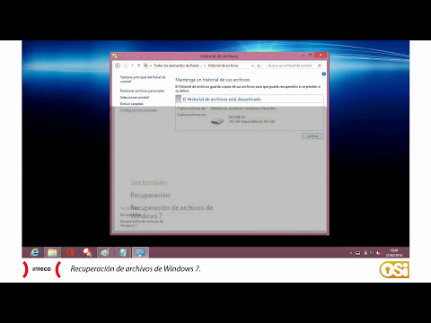 Cómo hacer copias de seguridad en Windows 7 y Windows 8