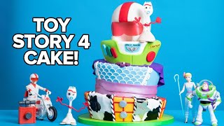 I Made A Cake For TOY STORY 4 RED CARPET! | How To Cake It