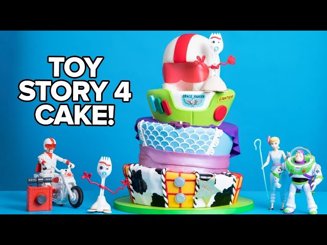 I Made A Cake For TOY STORY 4 RED CARPET! | How To Cake It thumbnail