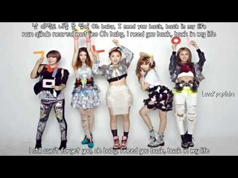 4minute - Only Gained Weight(살만찌고) [English subs + Romanization + Hangul] HD