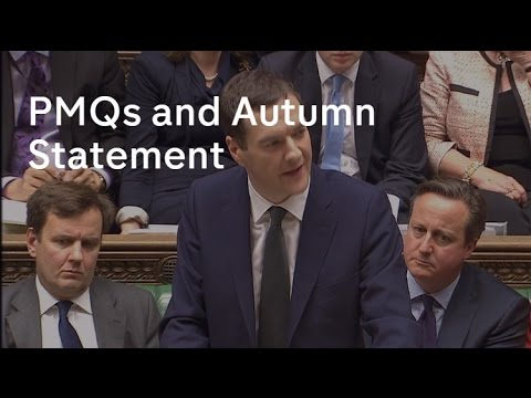 PMQs and Autumn Statement - 25 Nov 2015