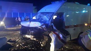 В столкновении скорой и легковушки в Благовещенске погиб водитель и пострадали дети