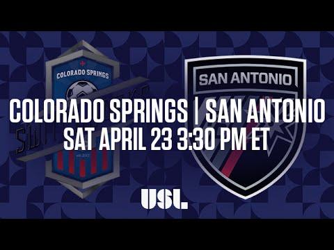 WATCH LIVE: Colorado Springs Switchbacks FC vs San Antonio FC 4-23-16