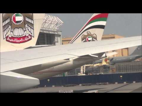 Ultra Long Haul Experience Etihad Airways Abu Dhabi to Los Angeles PART 1/2