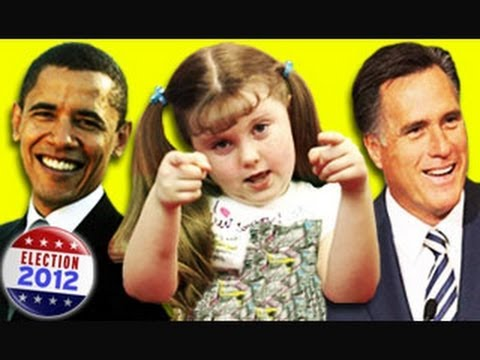 KIDS REACT TO ELECTION 2012