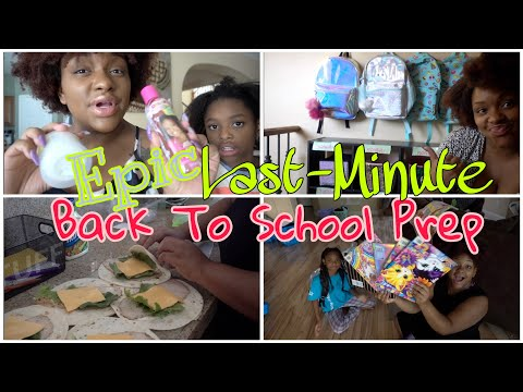 🖍📚EPIC LAST MINUTE BACK TO SCHOOL PREP!🖍📓DAY IN THE LIFE OF A MOM OF 8!