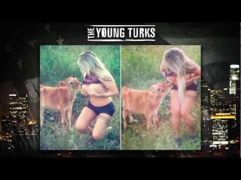 Brazilian Model Breastfeeds Calf (TYT Supreme Court)