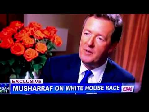 """I'm a Pakistan Man & President Obama is Arrogant"" - Musharraf talking to CNN Piers Morgan"