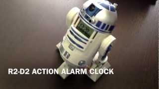 Star Wars - R2-D2 Action Alarm Clock