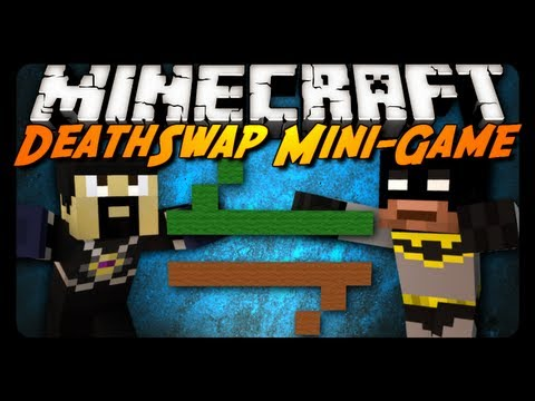 Minecraft Mini-Game: DEATHSWAP! w/ AntVenom & xRpMx13!