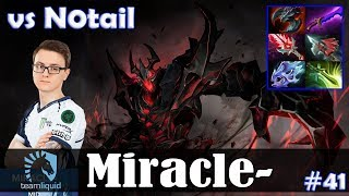 Miracle - Shadow Fiend MID | vs N0tail (Lifestealer) 7.13 Update Patch | Dota 2 Pro MMR Gameplay #41