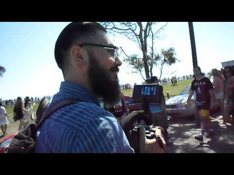 Santa Barbara UCSB DEL TOPIA 2014 UPDATE..De'Ampy Radio TV Tour!