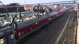 MY FIRST TOP VIEW SHOT OF SEALDAH - NEW DELHI RAJDHANI EXPRESS: AN INSPIRATION  :)