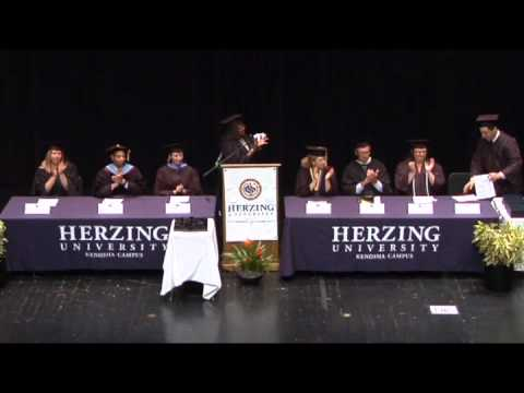 HERZING University Kenosha Campus Graduation 2012