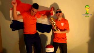 Holland fans World Cup 2014 Brazil