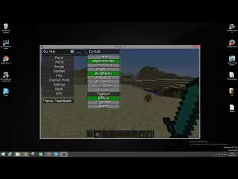 Descargar E Instalar Team Battle hack 1.8 -ANTIKNOCKBACK . kill aura y mas- en español