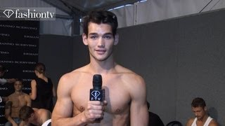 Ermanno Scervino Men Backstage at Milan Men's Fashion Week Spring/Summer 2013 | FashionTV FMEN