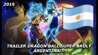 Dragon Ball Super Broly - Trailer Argentino!!! - Por SonGohan22