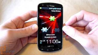Samsung DROID Charge (Verizon Wireless) video tour - part 1 of 2