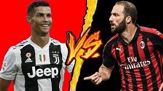 Ronaldo VS Higuain (Juventus VS Milan) - Battaglia Rap (Parodia Capo Plaza - Tesla Sfera Ebbasta)