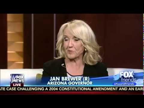 Arizona Gov. Jan Brewer on FOX News' Fox & Friends