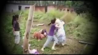 মেয়েদের মারামারি না দেখলে চরম মিস         ।।Missing the fights of the girls.