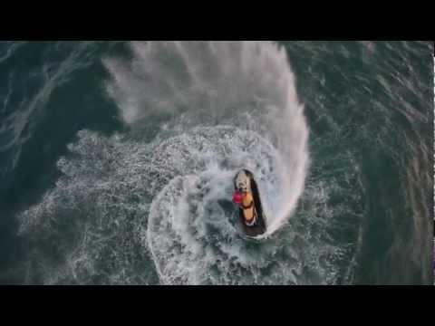 Тест в порывистый ветер (видео без обработки)