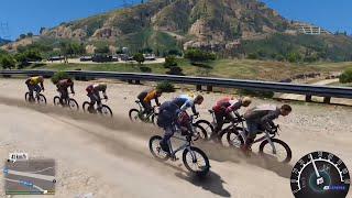 GTA 5 - Giải đua xe đạp giành chức vô địch ở vùng núi   ND Gaming