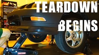 Integra GSR Teardown Begins Episode 3 - Honda Civic EK9 Build