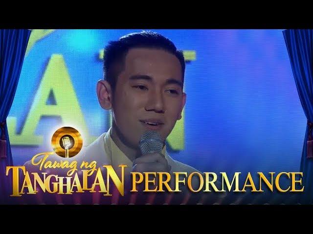 Tawag ng Tanghalan: John Michael Dela Cerna | Faithfully (Day 2 Semifinals)