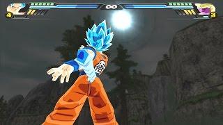 Goku SSJGSSJ Oozaru VS Golden Freeza (Dragon Ball Z Budokai Tenkaichi 3 mod)